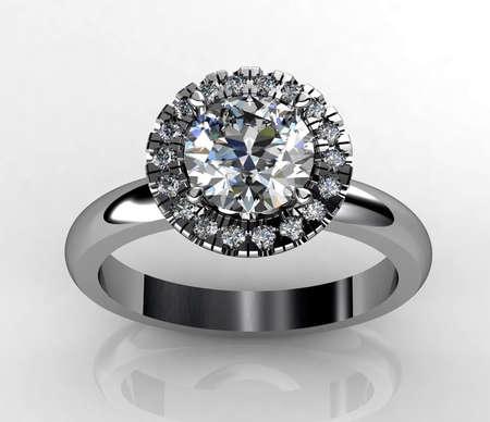 Ring diamond Stok Fotoğraf - 30862588