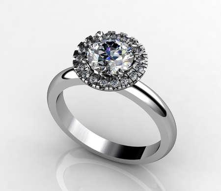 Diamond ring Stok Fotoğraf - 30862589