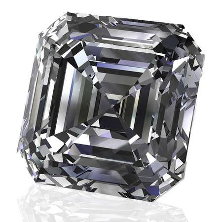 Emerald diamond Stok Fotoğraf - 84303320