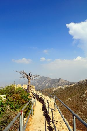 st hilarion: The best preserved of North Cyprus three castles, this fairytale castle (said by some to have inspired the one in Disneyland) is perched on a steep hilltop with commanding views over Kyrenia and the coast.
