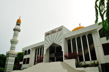 Main a mosque of the country in Male, Maldives  Stock Photo