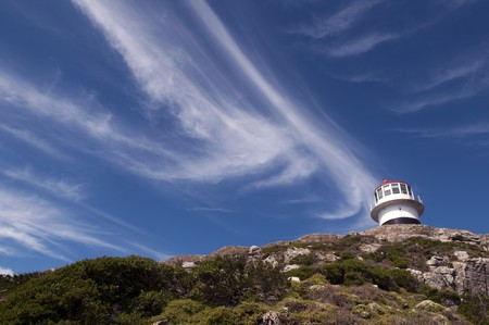 Lighthouse of Cape of Good hope, Cape Town photo