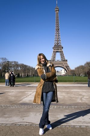 Wieża Eiffla, Paryż, Francja