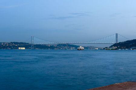 bosporus: Bosporus bridges, Istanbul, Turkey