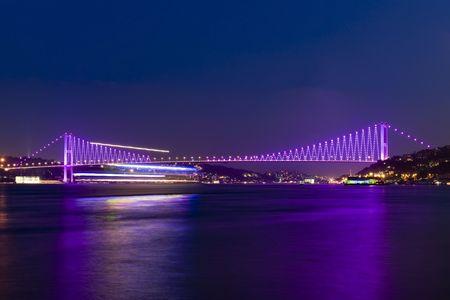Bosporus mosty, Istambuł, Turcja Zdjęcie Seryjne