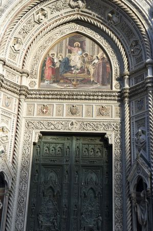 Mosaic from Santa Maria del Fiore, Florence photo