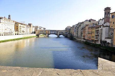 vechio: ponte vechio bridge in florence