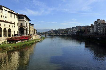 arno: Arno river, Florence, Italy