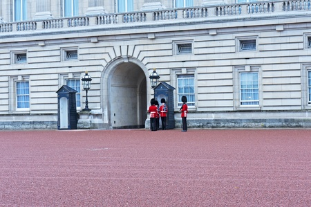 London, September 2011- Change of Guard in front of the Buckingham Palace