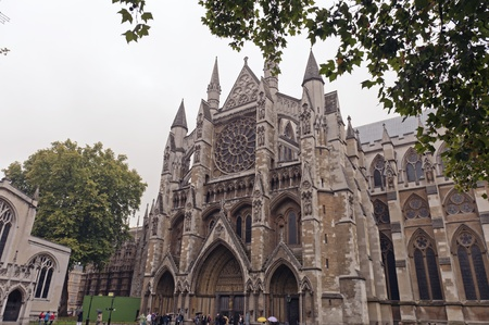 The Westminster Abbey in London photo