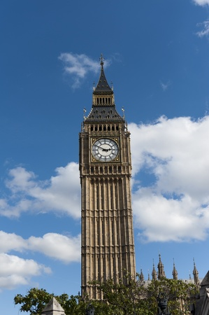 the big ben clock tower  in london  photo