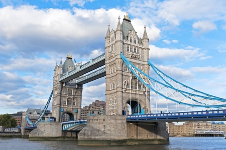 the tower bridge in London on River Thames Stock Photo - 11291243