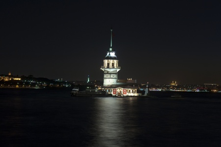 Maiden's tower, also known in the ancient Greek and medieval Byzantine periods as Leander's Tower   Stock Photo - 11481700