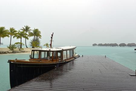 borabora: Rainstorm in Bora-bora