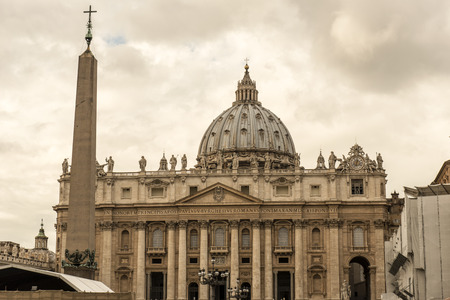 st  peter's basilica pope: St. Peters Basilica is a Late Renaissance church located within Vatican City.