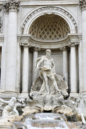 italian fountain: Trevi Fountain is a fountain in the Trevi district in Rome, Italy, designed by Italian architect Nicola Salvi and completed by Pietro Bracci