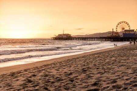 サンタモニカー、ロサンゼルス、カリフォルニア州 報道画像
