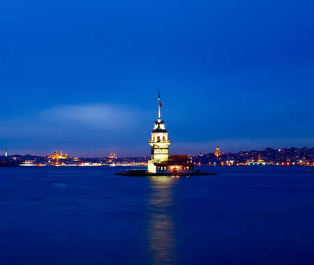 historical reflections: Maidens Tower, Istanbul