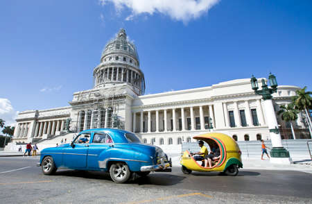 capitolio: El Capitolio in Havana, Cuba, was the seat of government in Cuba until after the Cuban Revolution in 1959 Editorial