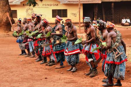 Danza tradicional africana en Babungo Unido en Camerún