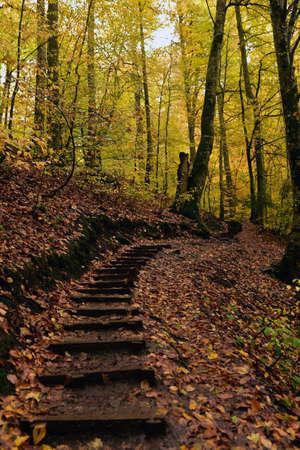 Autumn at the Seven Lakes National Park, Turkey Stock Photo