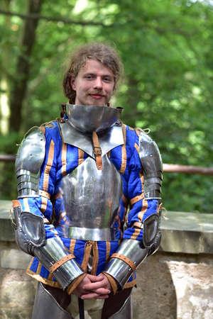 Valdstejn Castle, Czech Republic, People wearing medieval costume