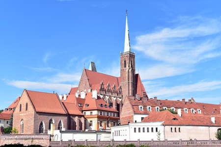 Ostrow Tumski or Cathedral Island, Poland, Wroclaw