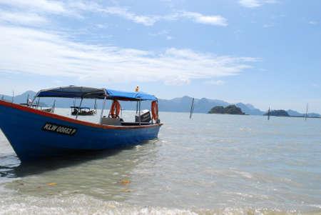 langkawi island: Boat at Langkawi Island