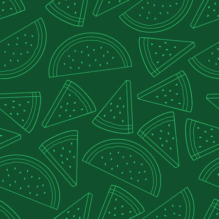 Unique and Trendy Watermelon Irregular Seamless Pattern. Unique and Trendy irregular seamless pattern background for your unique design.