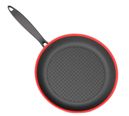 Frying pan isolated on white background Stock Photo - 17475382