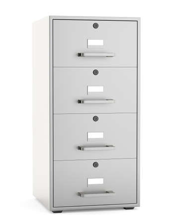 metal background: File cabinet