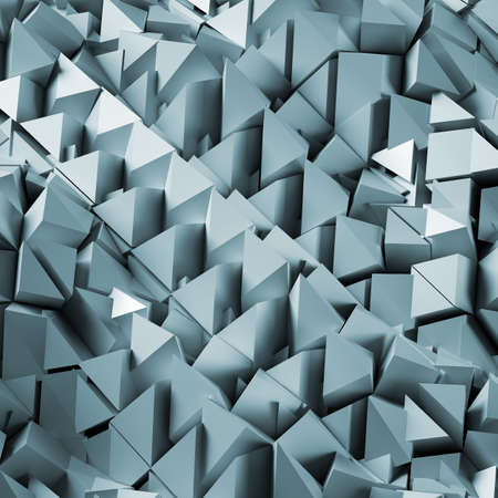 Abstract 3d polygonal background. 3d render
