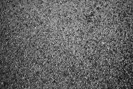 Road surface in abstract and black and white photo