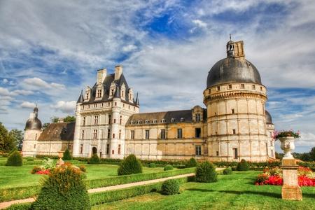loire: View of Chateau de Valencay, Loire Valley, France