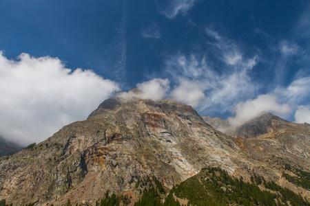 veny: Italian Alps, part of the Mont Blanc Massif  View from Val Veny valley, Italy