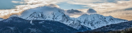 View of Mont Blanc, France photo