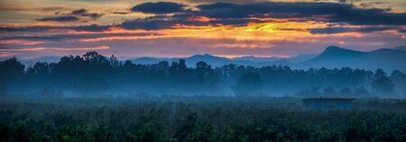 amanecer: Amanecer en las zonas rurales Andalucia, Espa?a