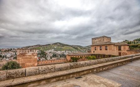 December 15th 2012. Alhambra, Granada, Spain.  Alhambra's Nasrid Palace Stock Photo - 17025592