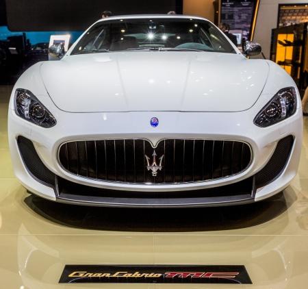 83rd: GENEVA, SWITZERLAND - MARCH 7TH, 2013. Maserati at the 83rd Geneva International Motorshow  on March 7th, 2013 at Geneva, Switzerland.2013.