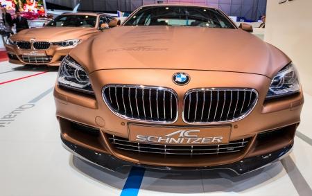 83rd: GENEVA, SWITZERLAND - MARCH 7TH, 2013.  AC Schnitzer BMW BMW 640d Gran Coup� at the 83rd Geneva International Motorshow  on March 7th, 2013 at Geneva, Switzerland.