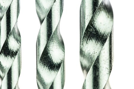 Tungsten carbide tips drill bits used for drilling into concrete, bricks and stone