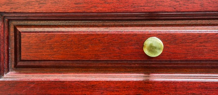 Red wood cabinet door abstract for background photo