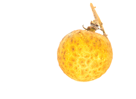 literally: Mata Kuching fruit or literally translated as   Cat Eye Fruit , a subspecies of the Longan Fruit Stock Photo