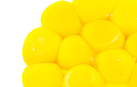 A group of egg yolks without egg whites Stock Photo