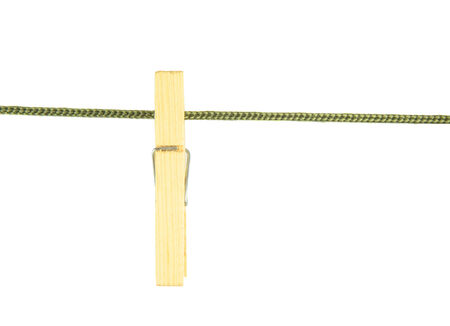 clench: Clothes peg on the clothes line