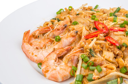 char: A plate of fried char kway teow
