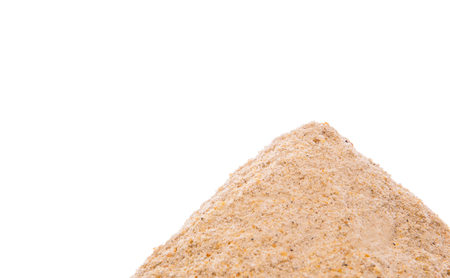 sediments: A pile of beach sand
