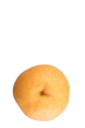 asian pear: Asian pear or Nashi pear fruit over white background