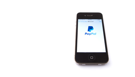 Kuala Lumpur, Malaysia - January 16th, 2015. Paypal mobile apps. Established in 1998, PayPal is an international e-commerce business and one of the world\ Editorial