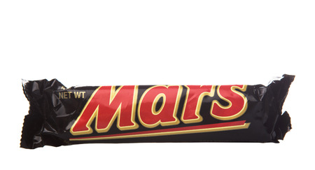mars incorporated: KUALA LUMPUR - JANUARY 21ST 2015. Mars chocolate bars. Mars bar was first manufactured in Slough, United Kingdom by Mars Incorporated and has been sold in worldwide consumer market.